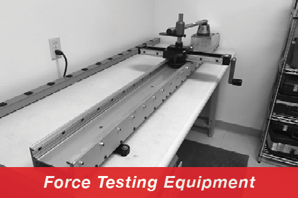 Lab - Force Testing Eqpt